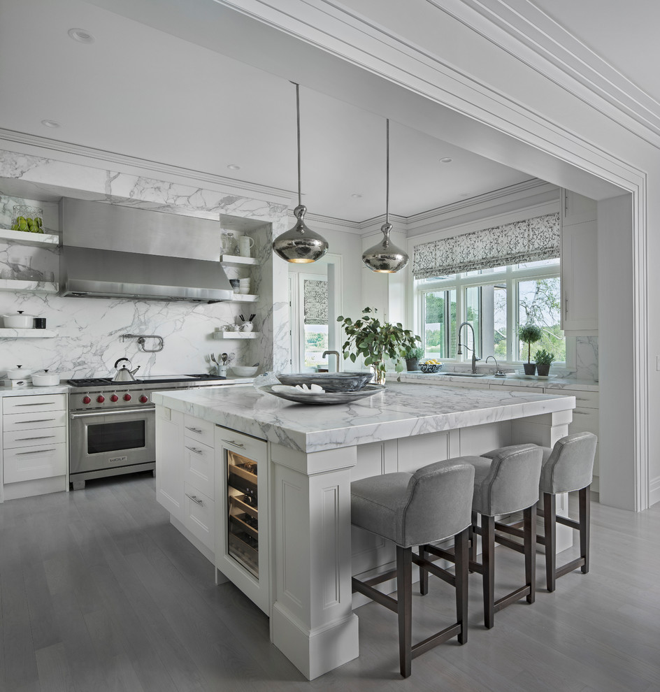 Kitchen Remodels Ideas With White Cabinets: 28+ Elegant White Kitchen Design Ideas For Modern Home