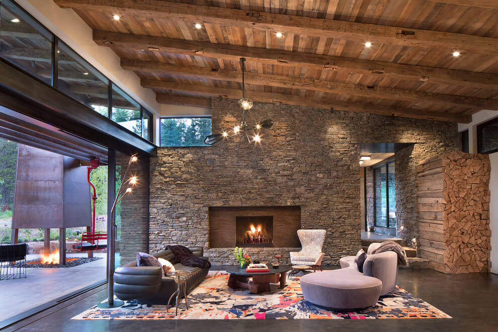 40 Rustic Living Room Ideas To Fashion Your Revamp Around: 25+ Rustic Living Room Ideas To Fashion Your Revamp Around