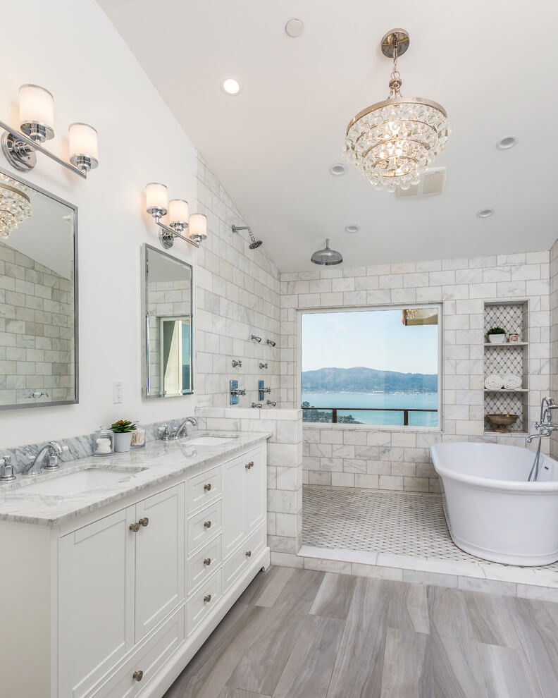 27+ Elegant White Bathroom Ideas to Inspire Your Home